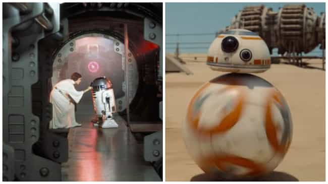 Plans Are Hidden in a Droid, S... is listed (or ranked) 1 on the list 21 Ways The Force Awakens Is Basically a New Hope