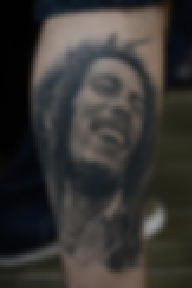 Bob Marley Portrait Tattoo is listed (or ranked) 4 on the list Portrait Tattoo Ideas