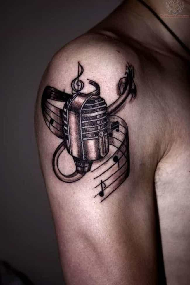 Music Armband Tattoo is listed (or ranked) 2 on the list Killer Ideas for Armband Tattoos