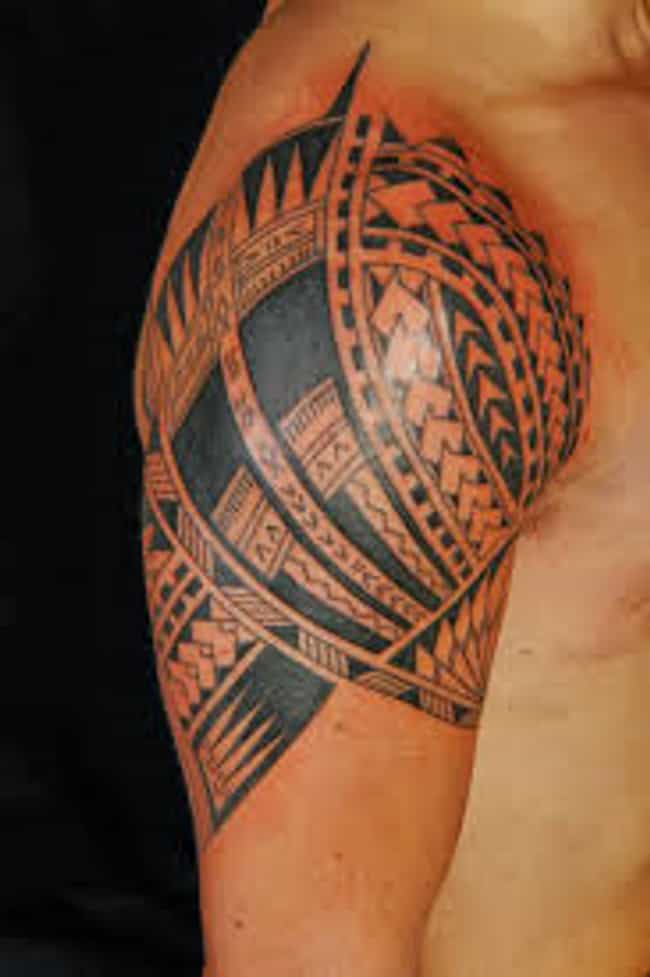 Polynesian Armband Tattoo is listed (or ranked) 1 on the list Killer Ideas for Armband Tattoos