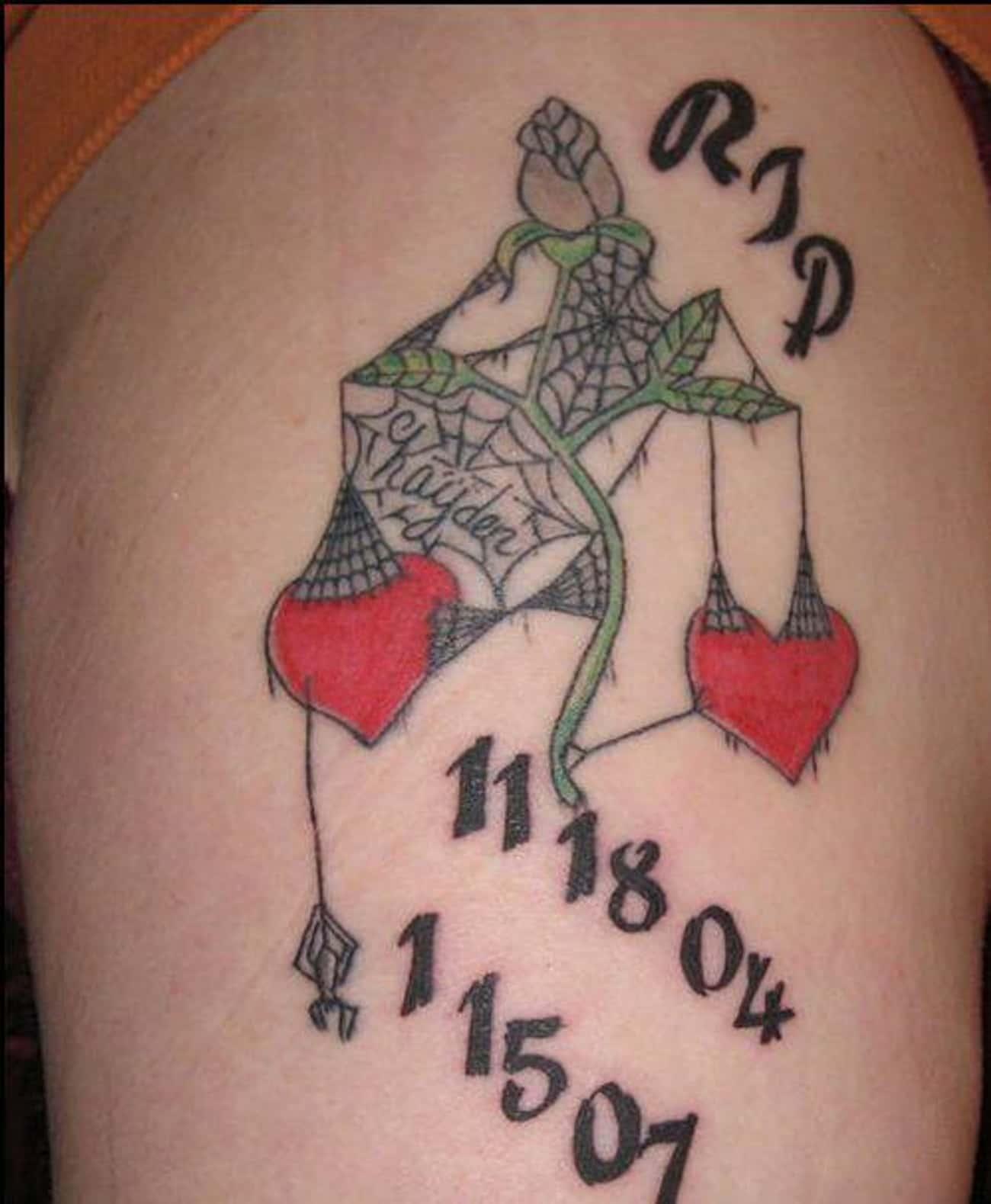 Heavy Heart RIP Tattoo