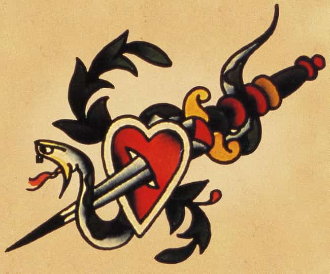 Heart And Dagger Sailor ... is listed (or ranked) 1 on the list Sailor Jerry Tattoo Ideas
