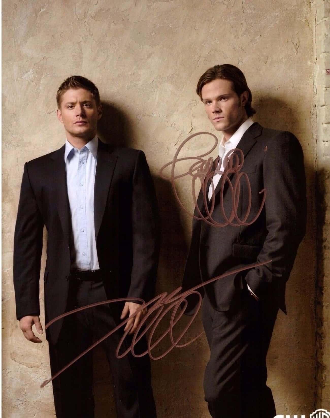 Supernatural Cast Autographed Photo