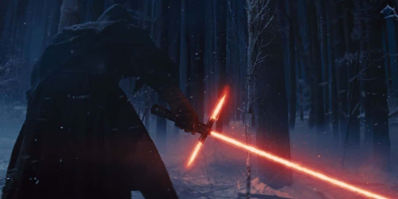 He Made His Own Lightsaber is listed (or ranked) 2 on the list Things You Didn't Know About Kylo Ren