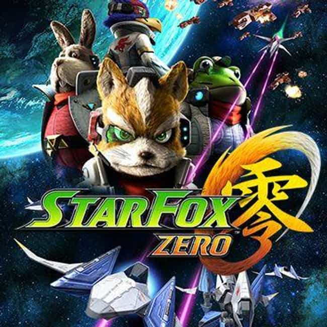 Star Fox Zero is listed (or ranked) 3 on the list The Most Underwhelming Video Games of 2016
