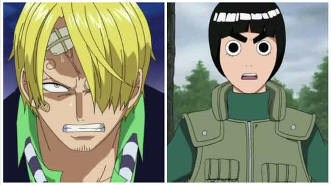 Sanji (One Piece) vs Roc... is listed (or ranked) 4 on the list 25+ Anime Dream Fights We Wish We Could See