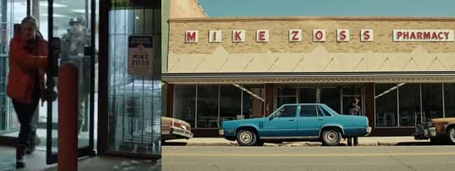 Mike Zoss Pharmacy is listed (or ranked) 5 on the list All of the Clever Easter Eggs Hiding in Fargo the TV Series