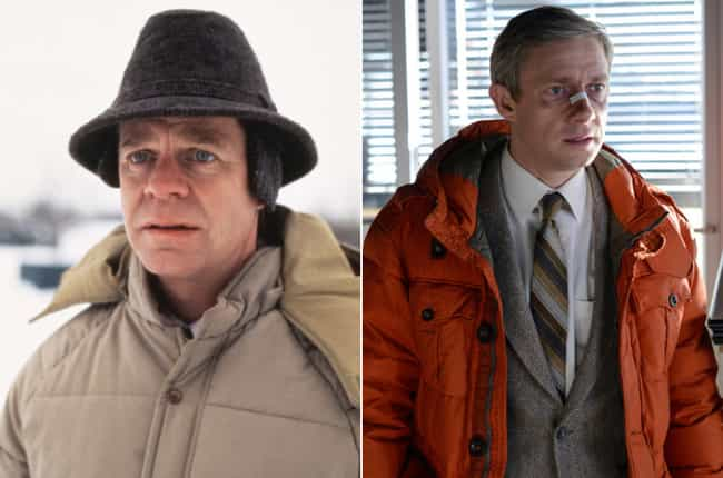 Jerry Lundegaard and Les... is listed (or ranked) 3 on the list All of the Clever Easter Eggs Hiding in Fargo the TV Series
