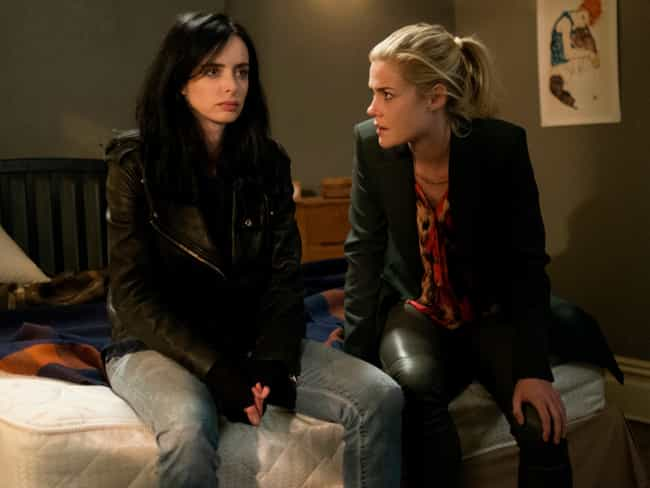 Survivor's Guilt is listed (or ranked) 6 on the list 21 Tough Issues Jessica Jones Tackles with Sensitivity