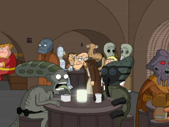 The Cantina Scene Shows ... is listed (or ranked) 1 on the list 22 Hidden References You Never Noticed in Family Guy