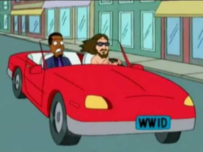 WWID is listed (or ranked) 6 on the list 22 Hidden References You Never Noticed in Family Guy