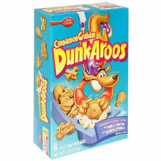 Dunkaroos is listed (or ranked) 1 on the list The Tastiest Discontinued Food/Drink Items from the 2000s
