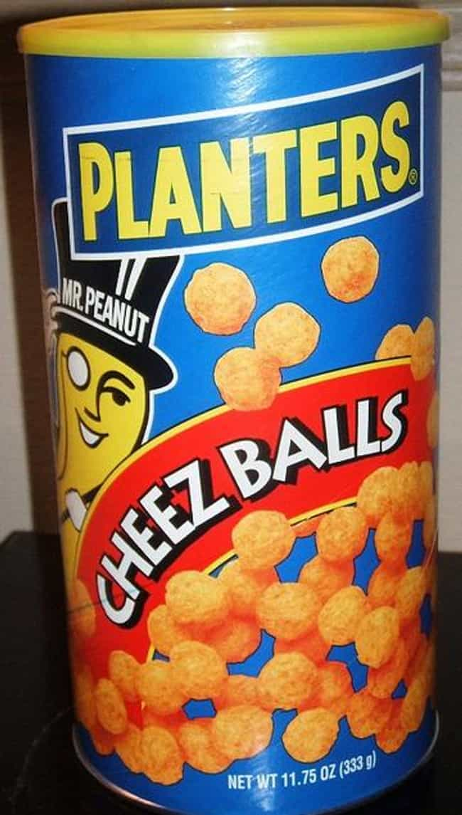 Planter's Cheeze Balls ... is listed (or ranked) 2 on the list The Tastiest Discontinued Food/Drink Items from the 2000s
