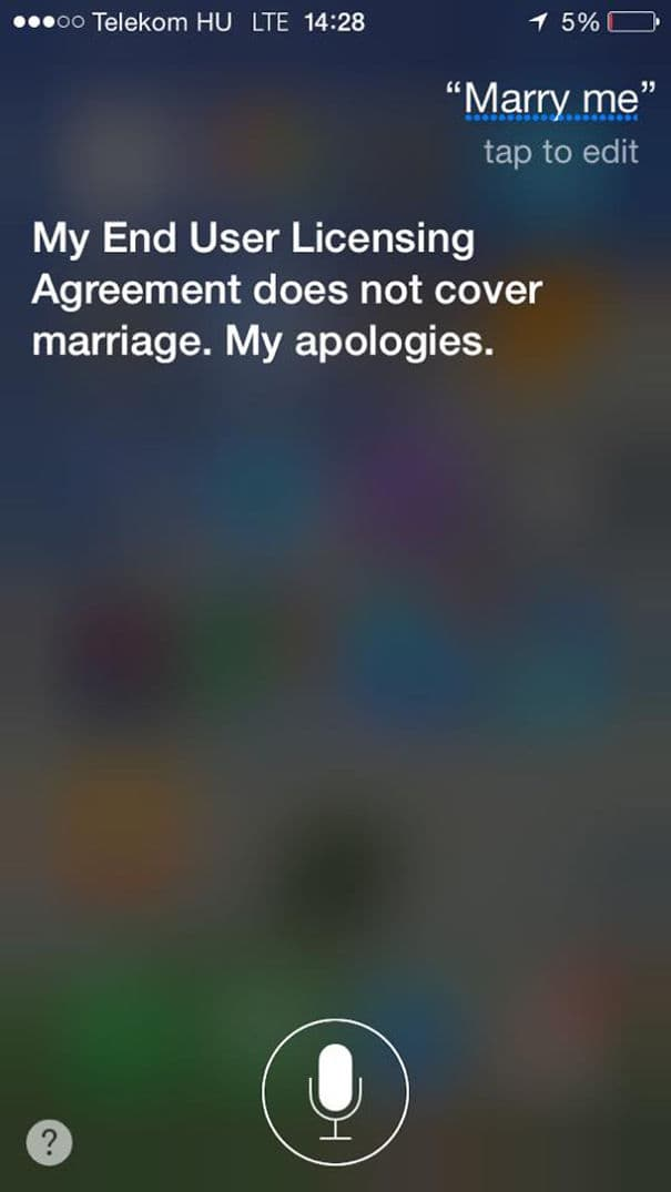 At Least She Knows How to Let a Guy Down Easy on Random Siri Gave Hilarious Answers to Your Questions