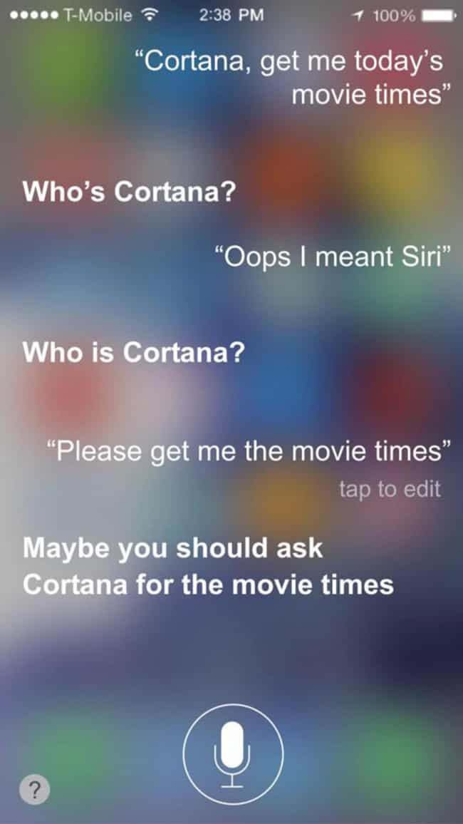 That Awkward Moment When You A... is listed (or ranked) 1 on the list 23 Times Siri Gave Hilarious Answers to Your Questions