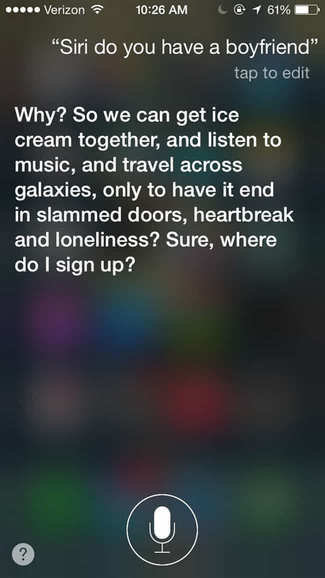 When Your Phone Turns Out to B... is listed (or ranked) 2 on the list 23 Times Siri Gave Hilarious Answers to Your Questions
