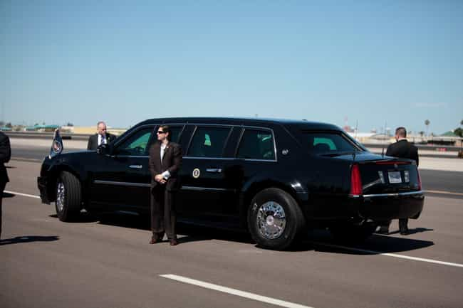The Beast Earns Its Name... is listed (or ranked) 2 on the list Fascinating Facts to Know About the President's Limo