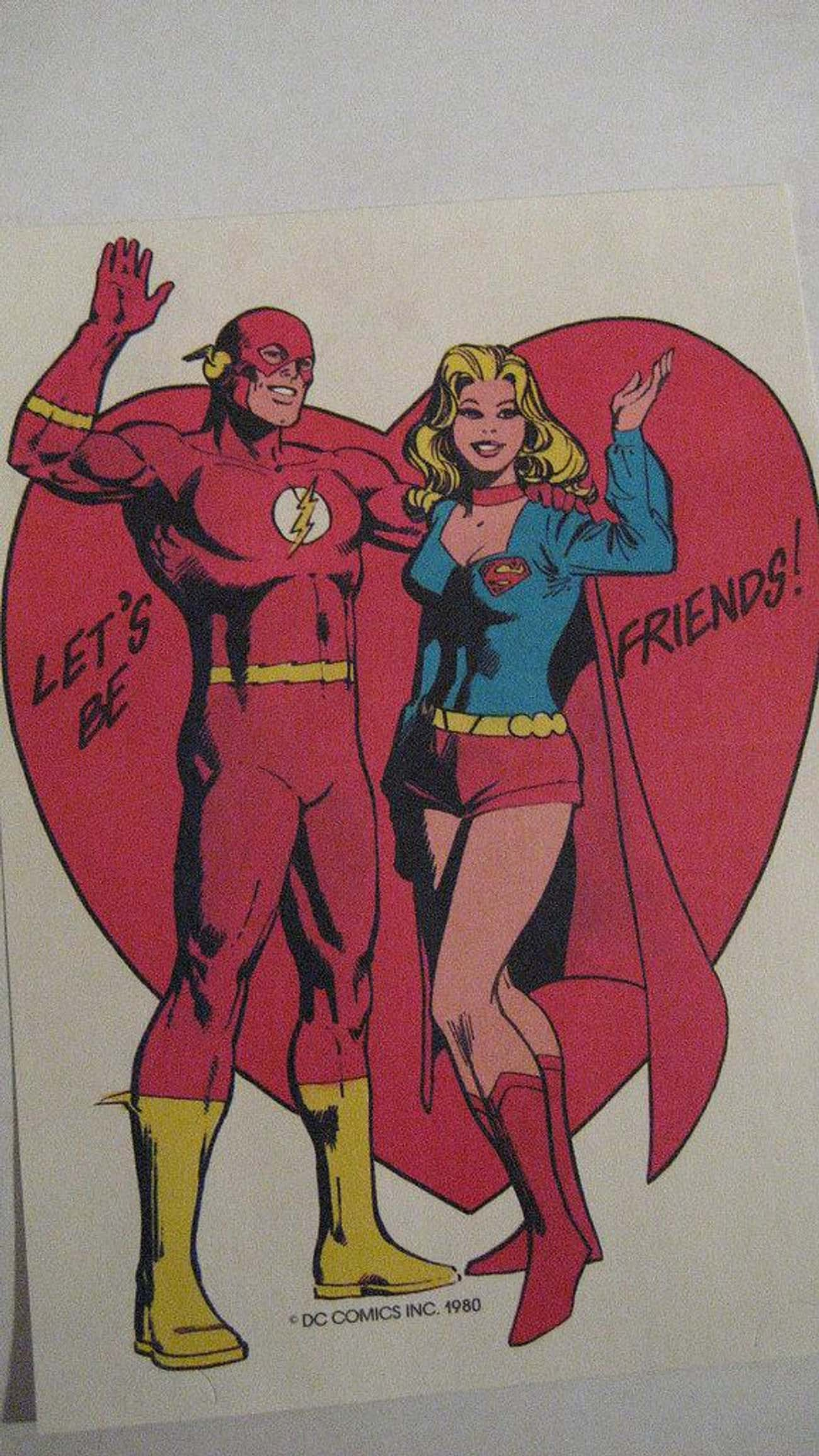 :( Okay.... is listed (or ranked) 1 on the list Misguided Superhero Valentine's Day Cards
