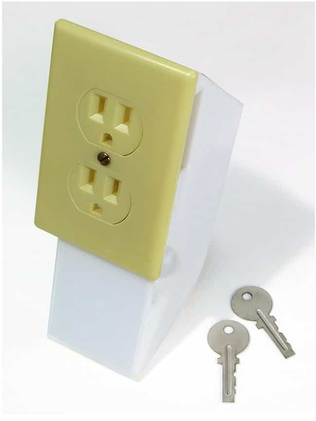 This Covert Wall Outlet ... is listed (or ranked) 4 on the list The Most Ingenious Products for All of Your Sneaky Stuff