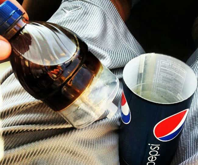 This Genius Sneaky Pepsi Bottl... is listed (or ranked) 4 on the list The Most Ingenious Products for All of Your Sneaky Stuff