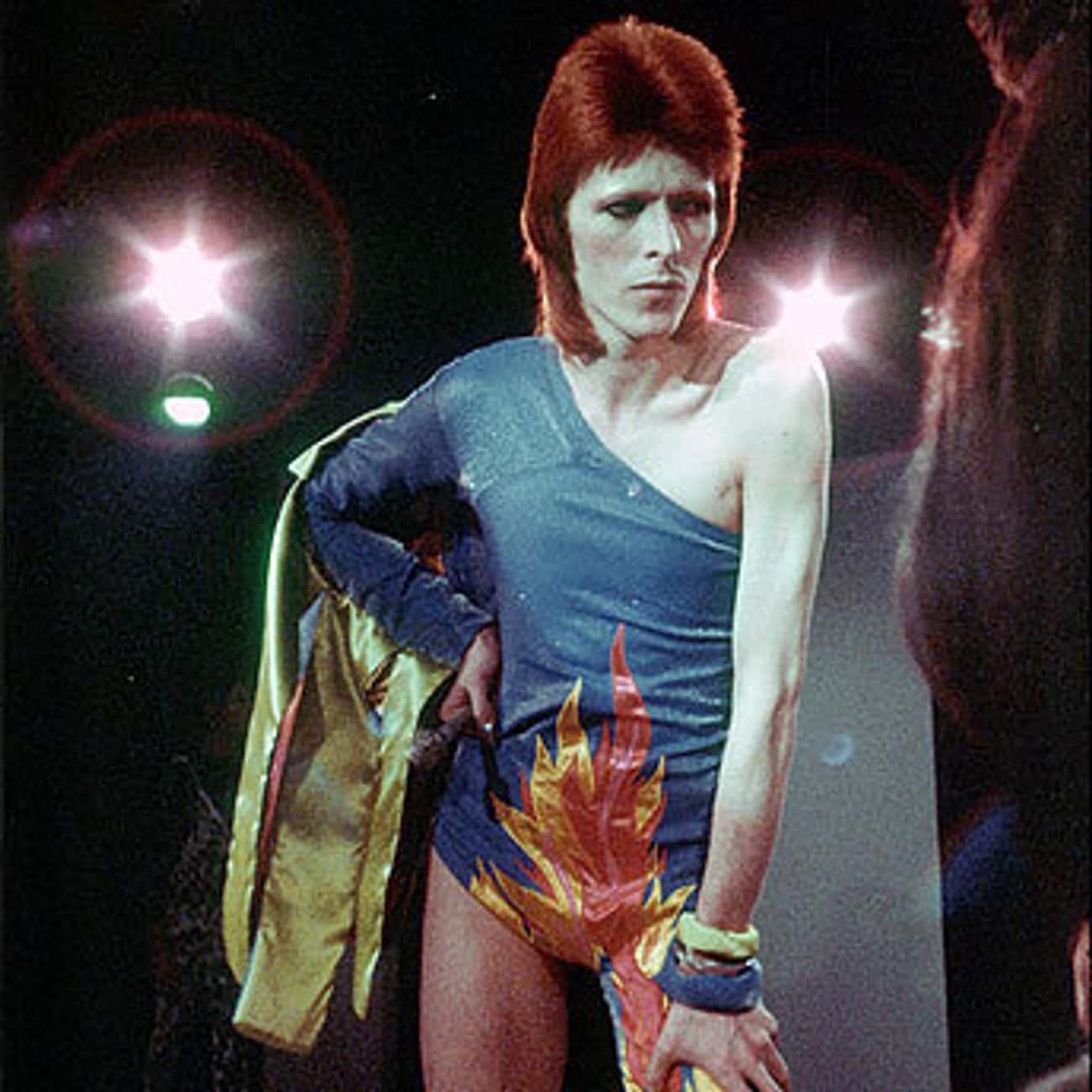 With Ziggy Stardust, He Reinve is listed (or ranked) 3 on the list How David Bowie Changed the World