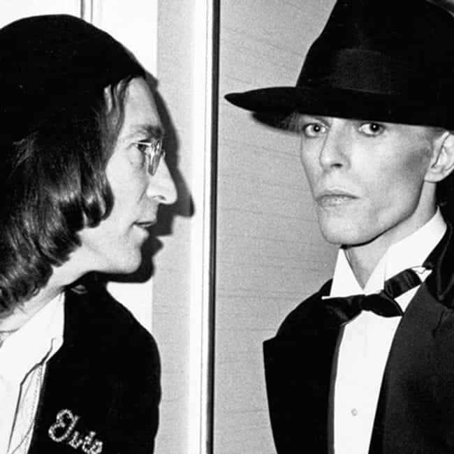 John Lennon Once Made Bowie Ea... is listed (or ranked) 3 on the list Fun Facts You Didn't Know About David Bowie