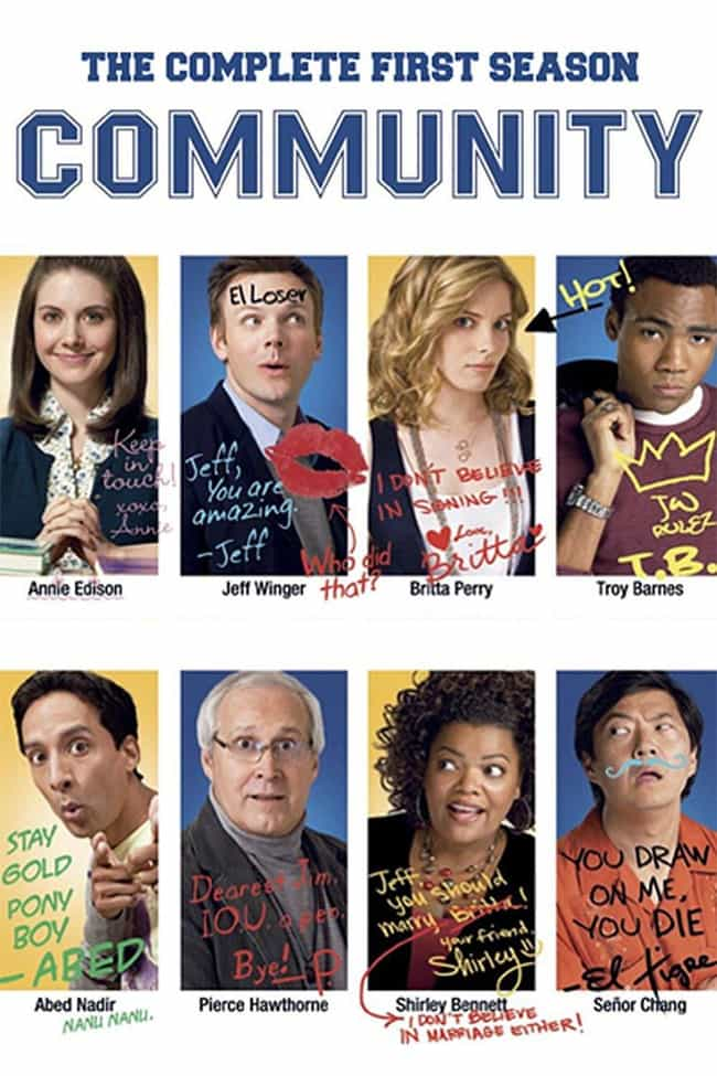 Community - Season 1 is listed (or ranked) 1 on the list The Best Seasons of 'Community'