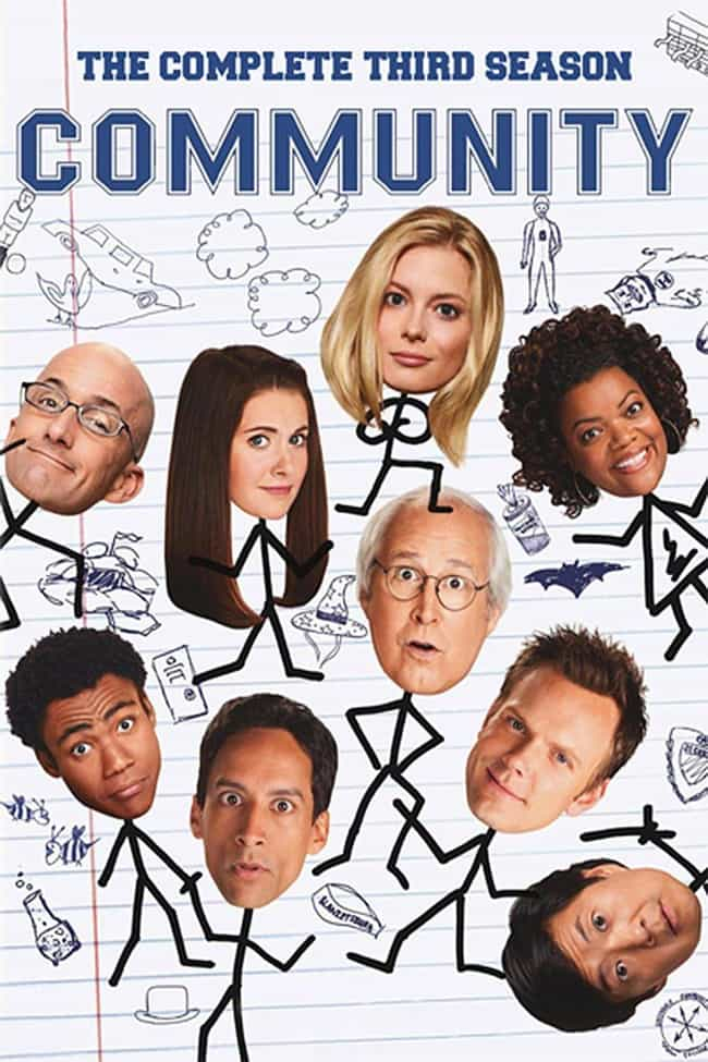 Community - Season 3 is listed (or ranked) 2 on the list The Best Seasons of 'Community'