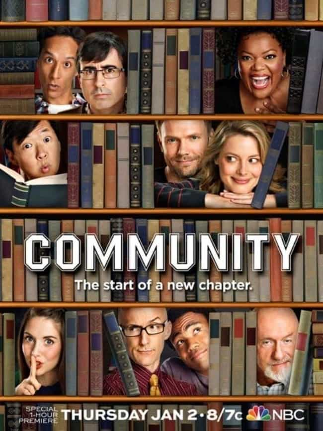Community - Season 5 is listed (or ranked) 4 on the list The Best Seasons of 'Community'