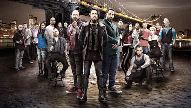 Ink Master - Season 4 is listed (or ranked) 1 on the list The Best Seasons of 'Ink Master'