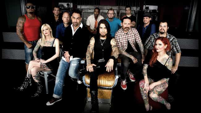Ink Master - Season 2 is listed (or ranked) 7 on the list The Best Seasons of 'Ink Master'