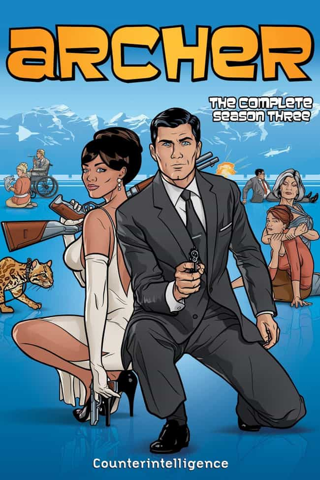 Archer - Season 3 is listed (or ranked) 3 on the list The Best Seasons of 'Archer'
