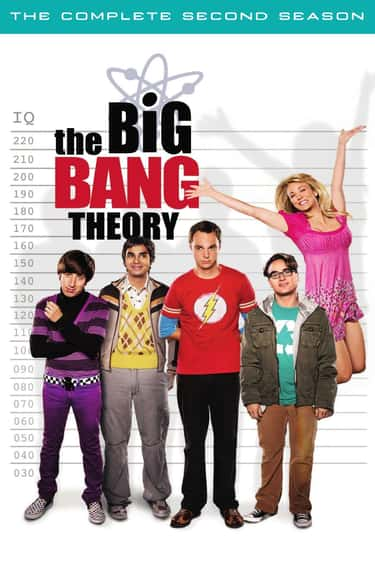 The Big Bang Theory - Season 2 is listed (or ranked) 1 on the list The Best Seasons of 'The Big Bang Theory'