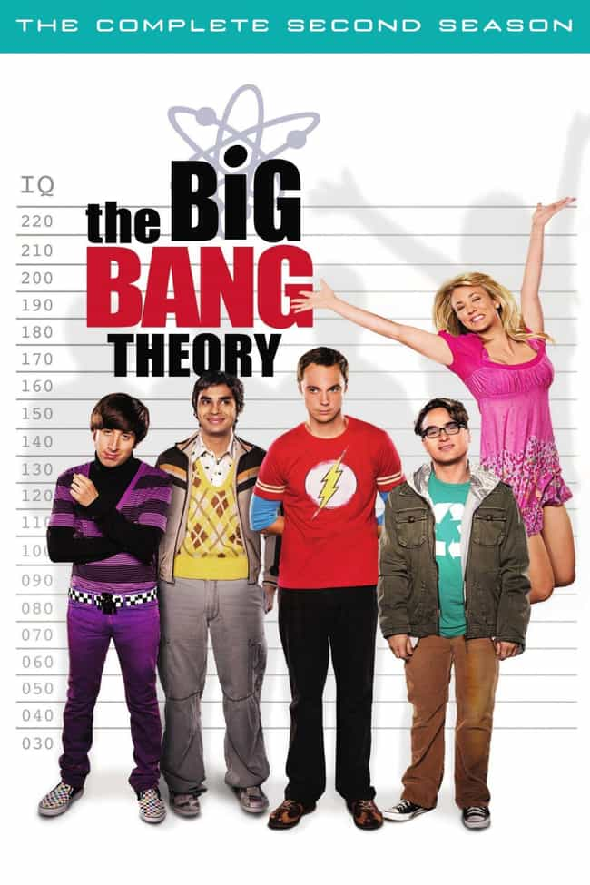 The Big Bang Theory - Se... is listed (or ranked) 1 on the list The Best Seasons of 'The Big Bang Theory'