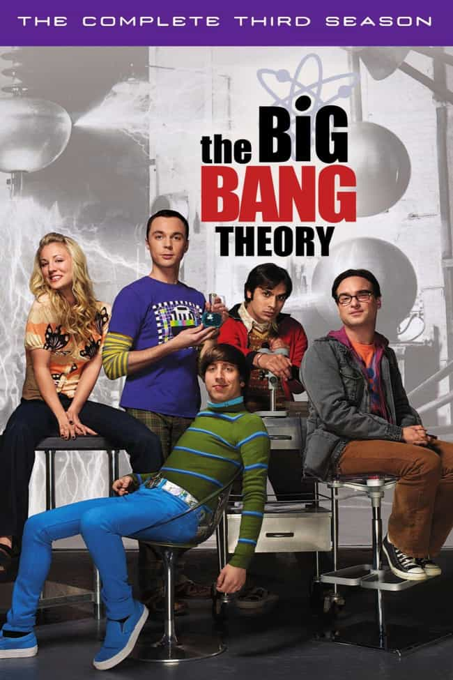 The Big Bang Theory - Se... is listed (or ranked) 2 on the list The Best Seasons of 'The Big Bang Theory'
