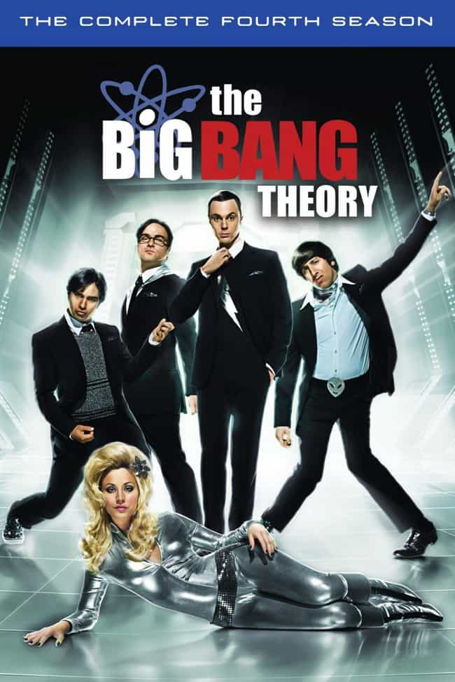 The Big Bang Theory - Se... is listed (or ranked) 4 on the list The Best Seasons of 'The Big Bang Theory'
