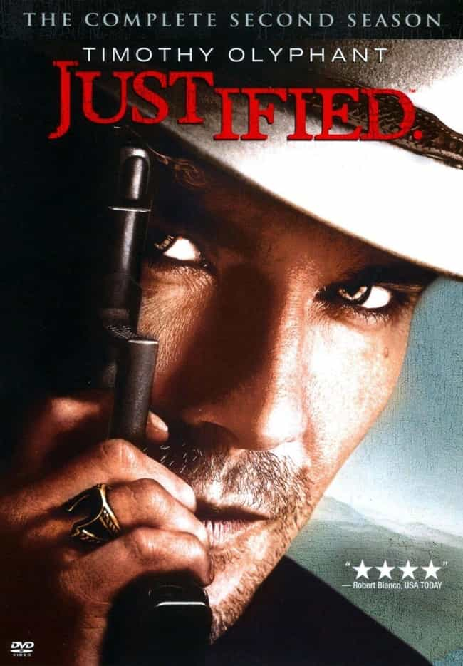 Justified - Season 2 is listed (or ranked) 1 on the list The Best Seasons of 'Justified'