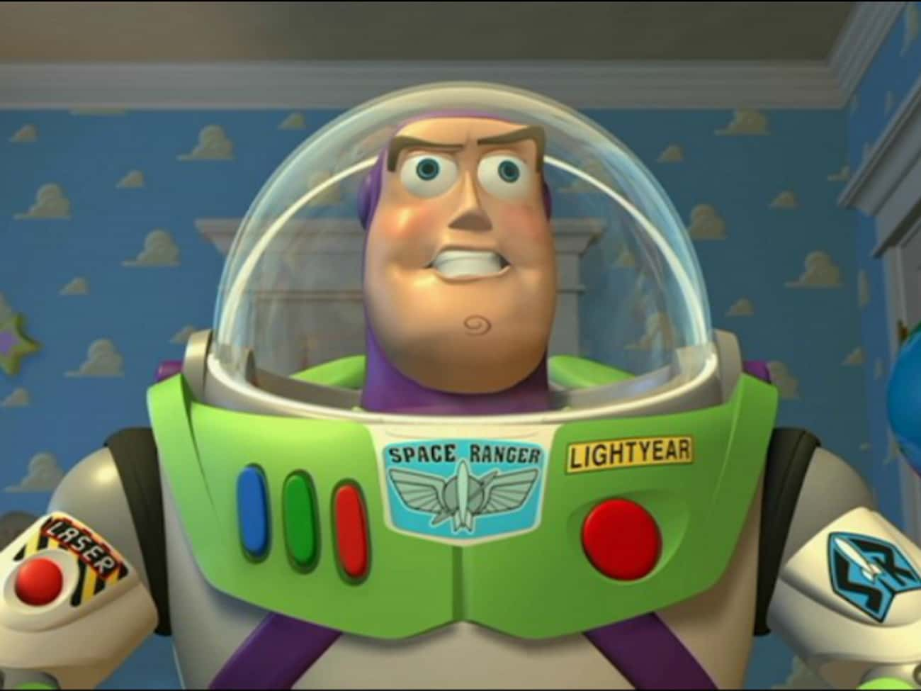 If Buzz Lightyear Doesn't Think He's a Toy, Why Does He Hit the Deck When Andy's Around?