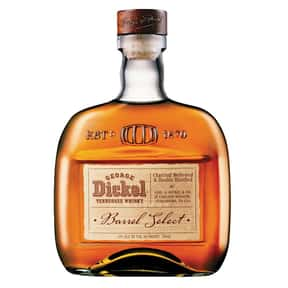 George Dickel is listed (or ranked) 15 on the list The Best American Whiskey