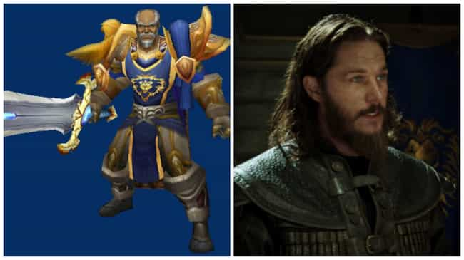 Anduin Lothar is listed (or ranked) 1 on the list How 21 Iconic Images of the Warcraft Game Look in the Film