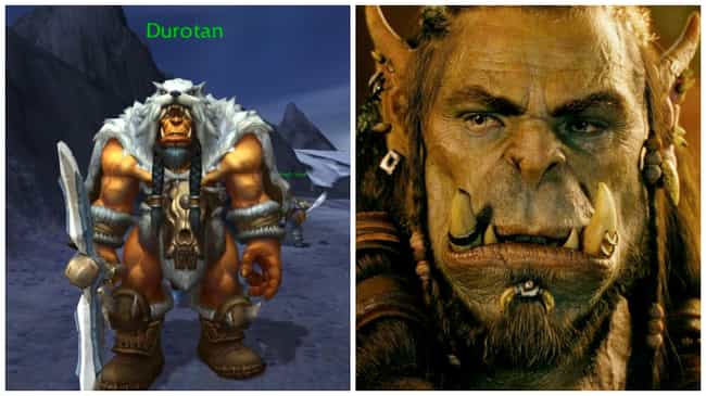 Durotan is listed (or ranked) 3 on the list How 21 Iconic Images of the Warcraft Game Look in the Film