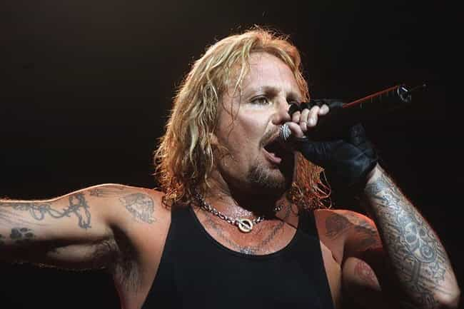 Vince Neil is listed (or ranked) 3 on the list Celebrities Who Got Off Easy for Crimes They Committed