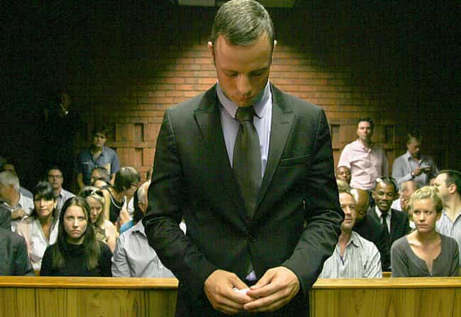 Oscar Pistorius Murders Girlfr... is listed (or ranked) 2 on the list The 15 Most Brutal Valentine's Day Murders