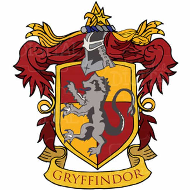 Gryffindor is listed (or ranked) 4 on the list The Best Hogwarts Houses
