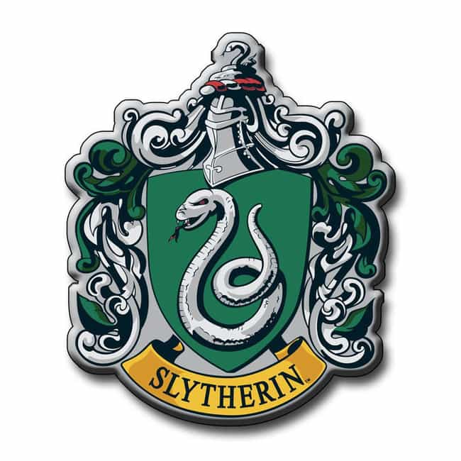 Slytherin is listed (or ranked) 2 on the list The Best Hogwarts Houses
