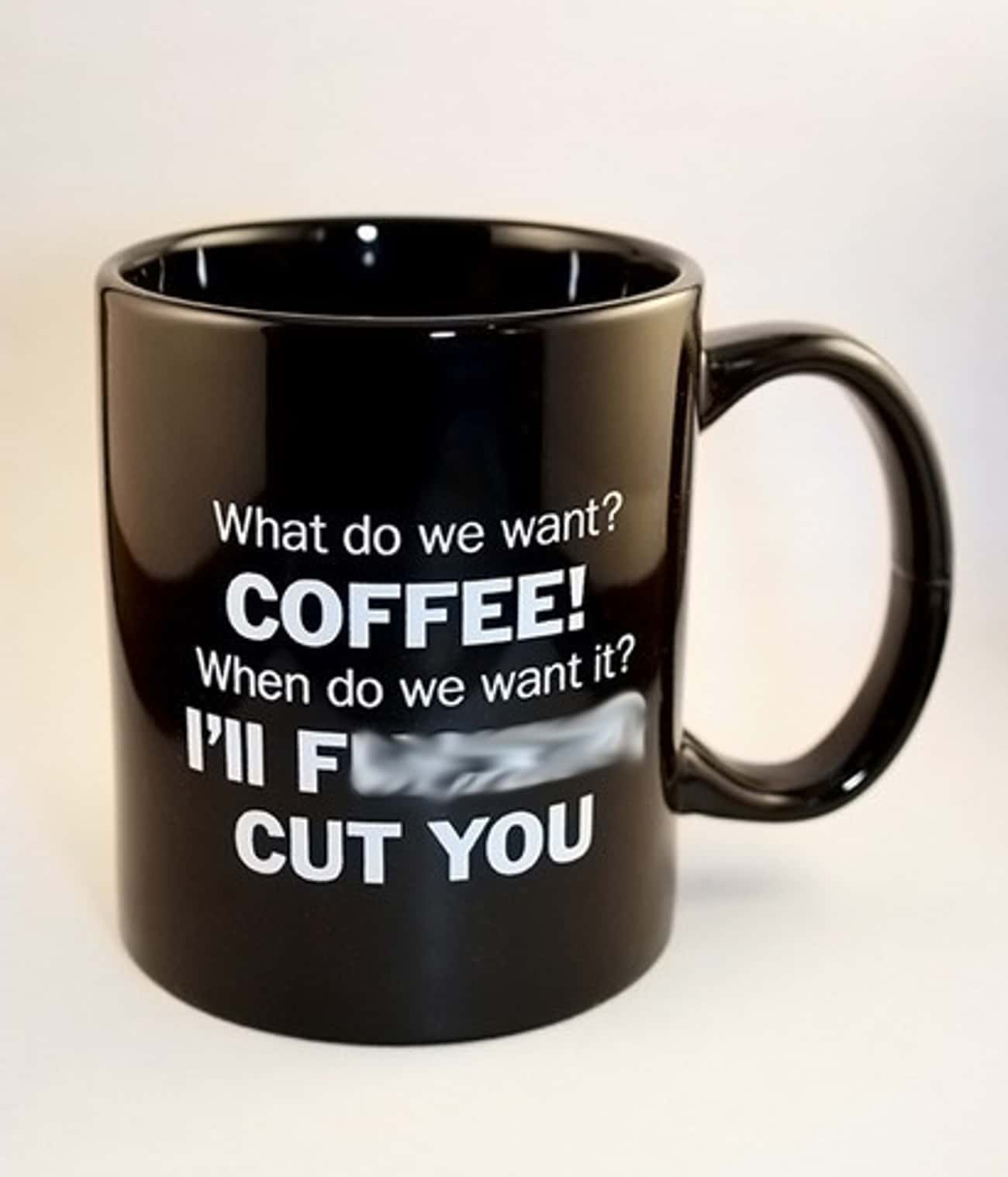 Just Give the Man His Coffee is listed (or ranked) 2 on the list 34 Funny Coffee Mugs to Improve Your Morning