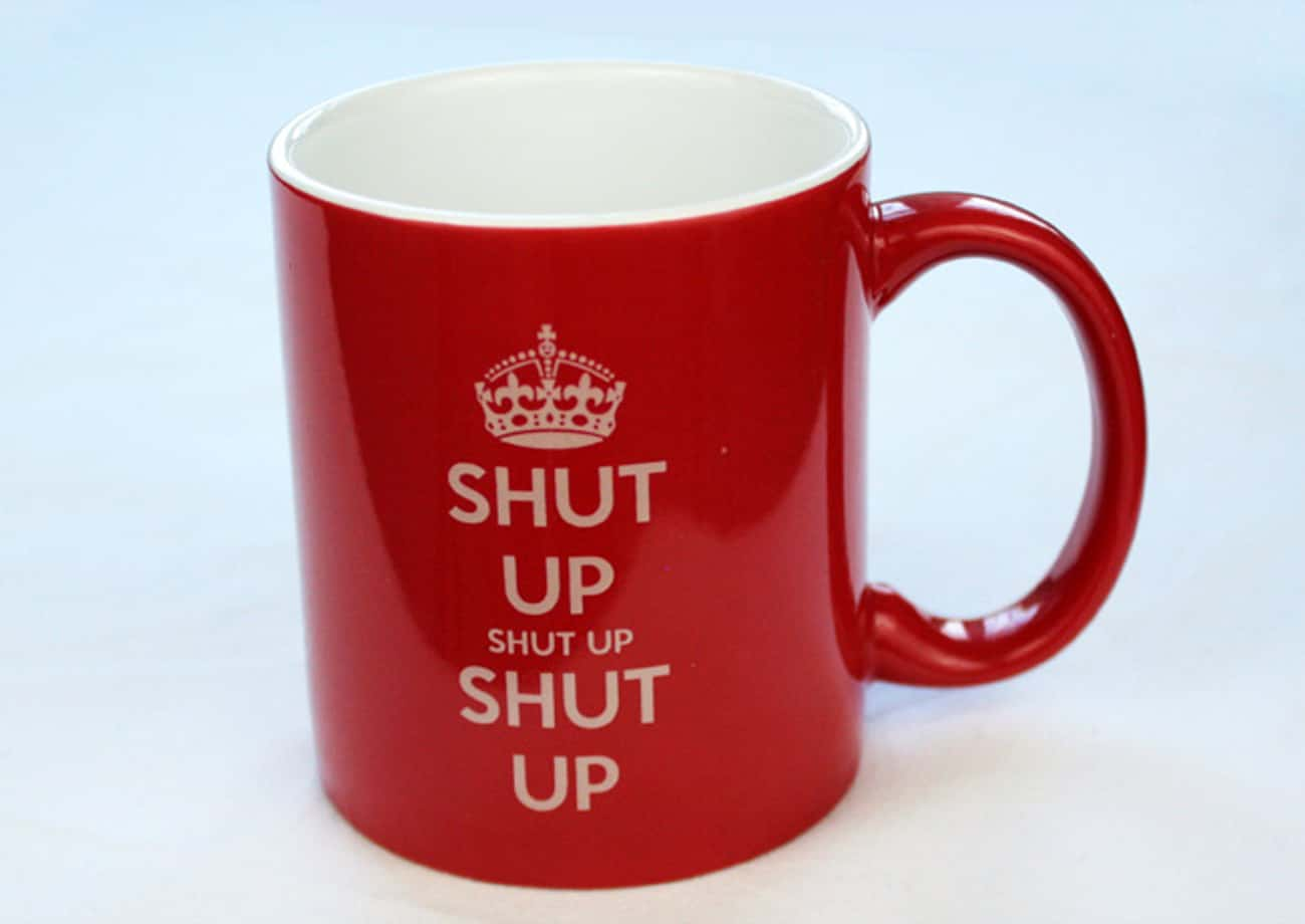 Coffee Cups Are Where Memes Go is listed (or ranked) 1 on the list 34 Funny Coffee Mugs to Improve Your Morning