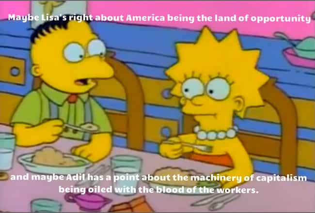 He Does Have a Point Though is listed (or ranked) 5 on the list 28 Times The Simpsons Got REALLY Dark