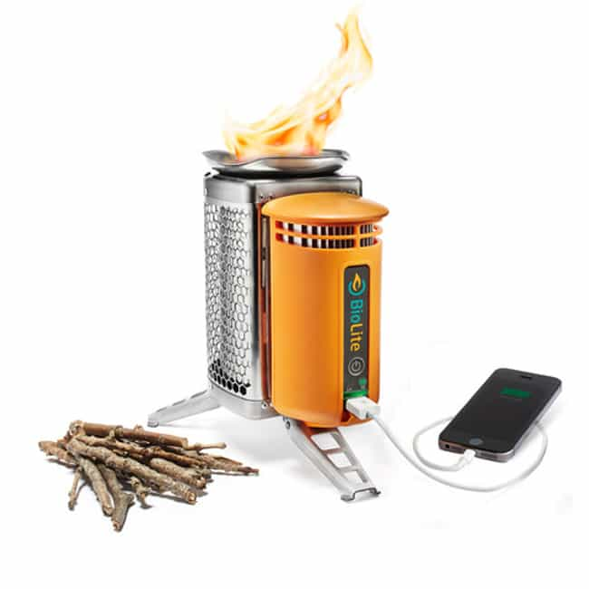 Biolite Campstove is listed (or ranked) 3 on the list 22 Useful Products You Only Need to Buy Once