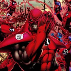Red Lanterns is listed (or ranked) 20 on the list The Best Villains The Justice League Has Ever Faced